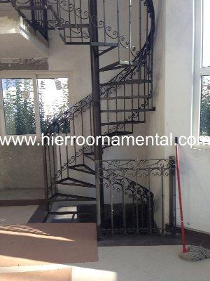 Productos de hierro forjado y acero inoxidable - Escaleras de caracol economicas ...