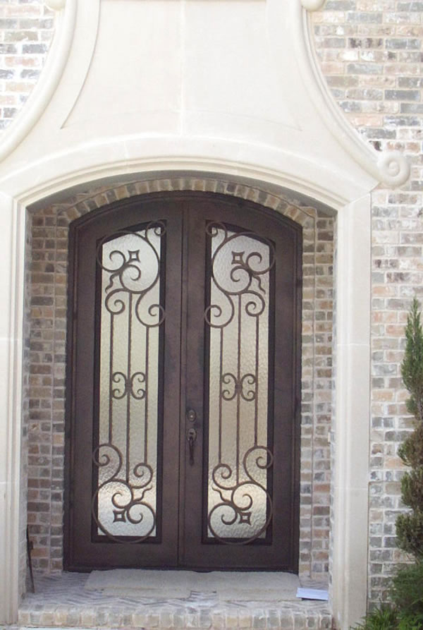 Productos de hierro forjado y acero inoxidable for Disenos de puertas de hierro